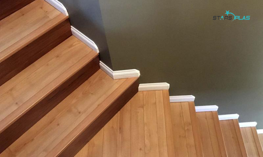 Wpc Laminating Molding For Flooring